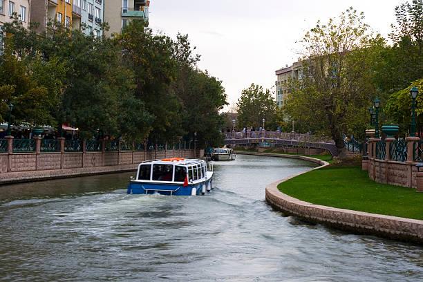 Porsuk river stock photo