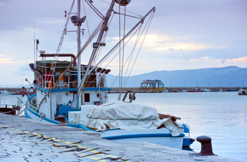 Port and Fisherman ship