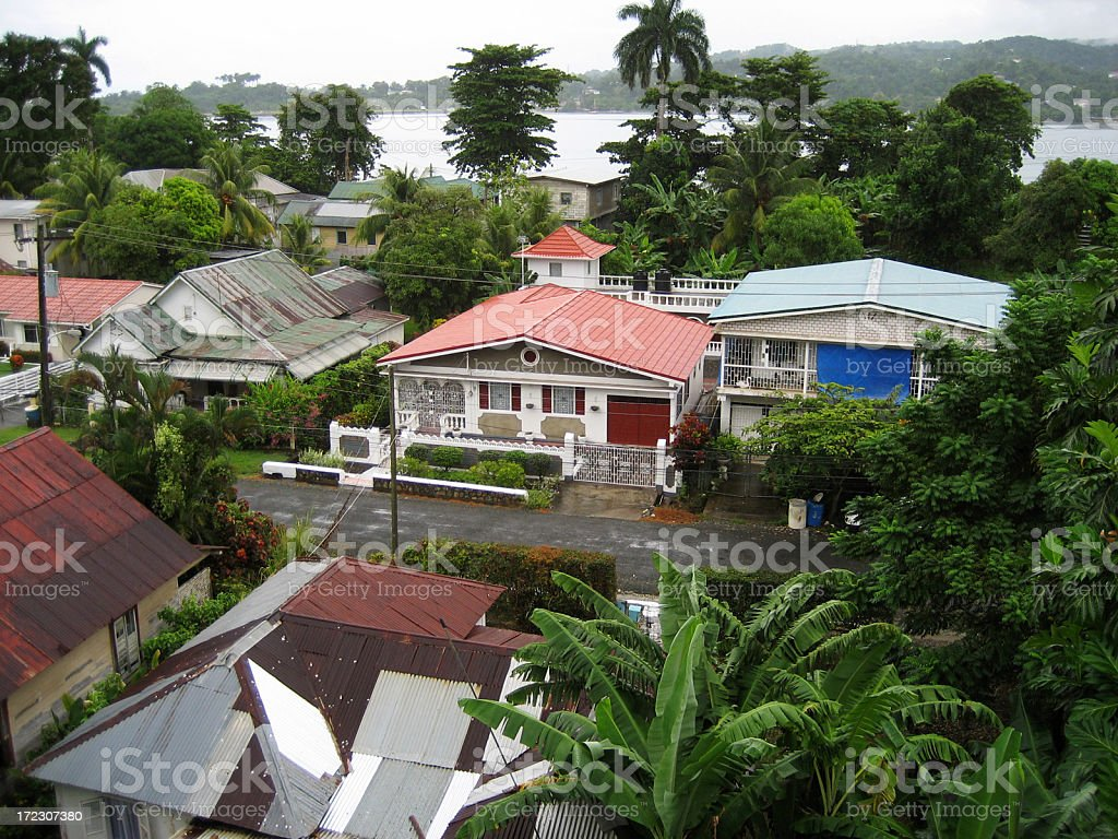 port antonio, jamaica royalty-free stock photo