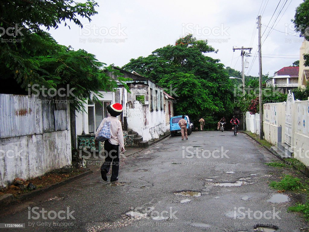 port antonio, jamaica royalty-free stock photo