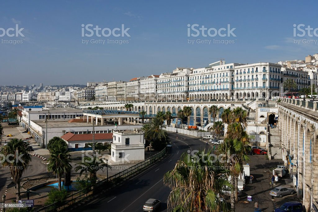 Port area of Algiers, Algaria - Photo
