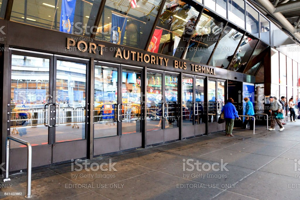 Port Authority Bus Terminal stock photo