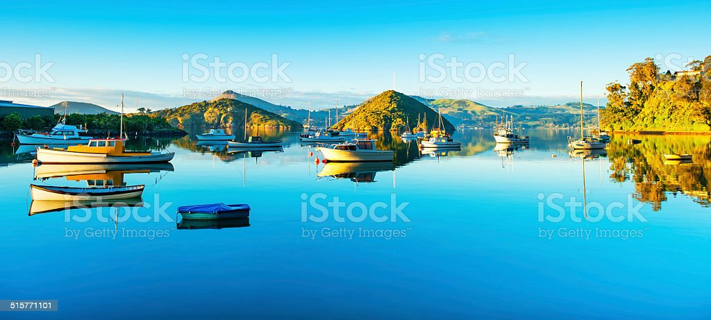 Port Chalmers stock photo