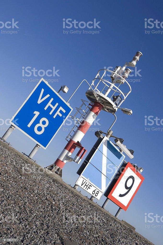 Port Communications royalty-free stock photo