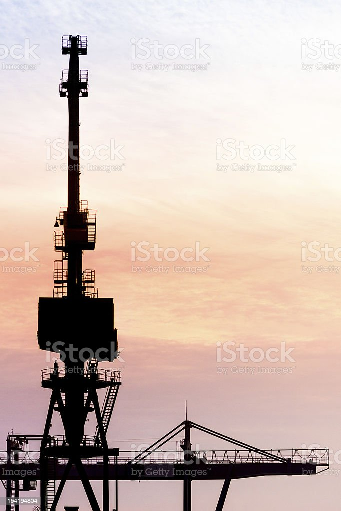 Port Cran in the Morning stock photo