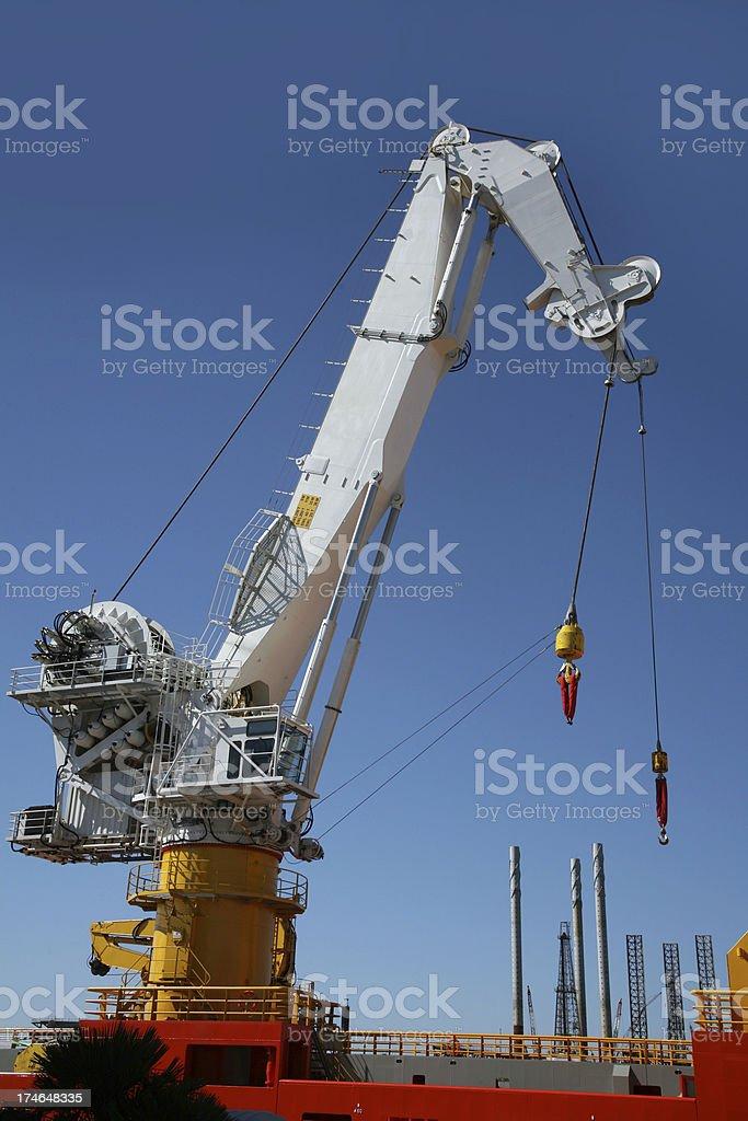 Port Crane royalty-free stock photo