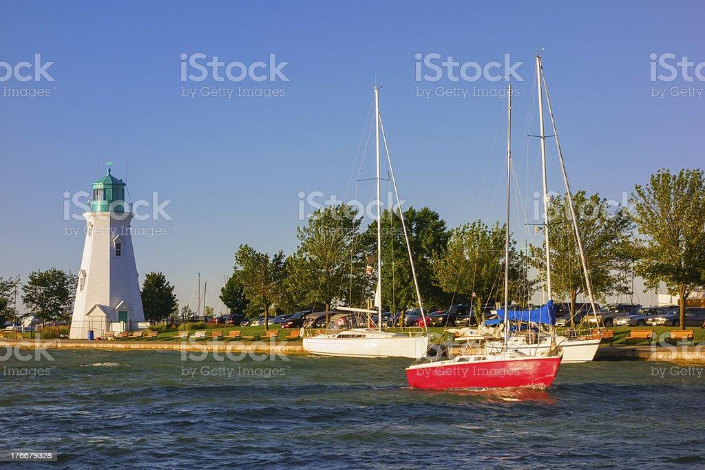 Port Dalhousie, St. Catharines, Ontario, Canada royalty-free stock photo