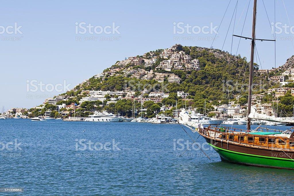 Port D'Andratx Majorca stock photo