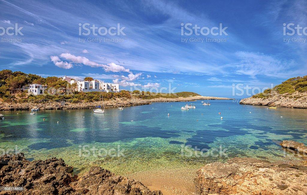 Port de Portinatx - Ibiza stock photo