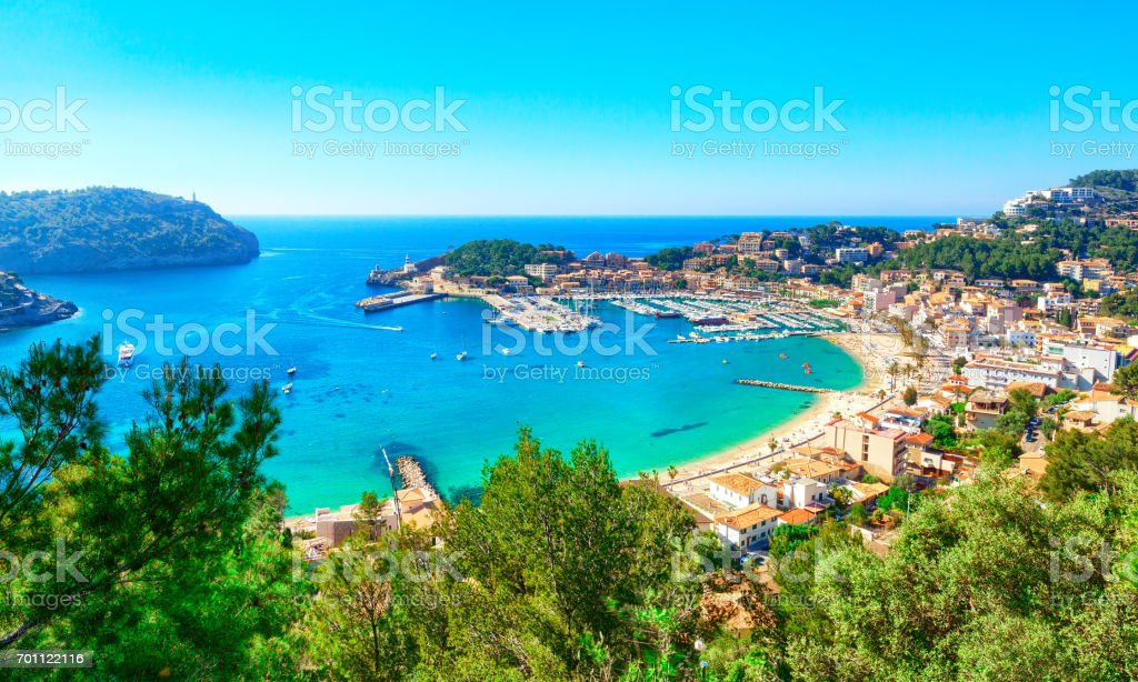Port de Soller, Mallorca, Spain - foto stock
