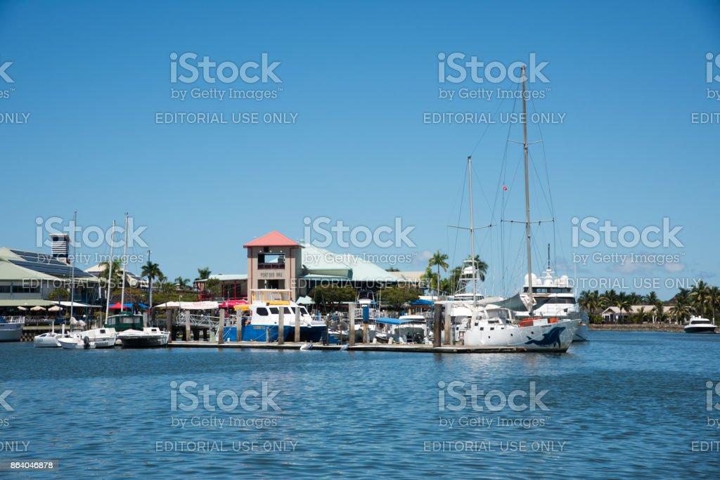 Port Denarau stock photo