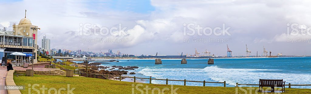 Port Elizabeth city in South Africa stock photo