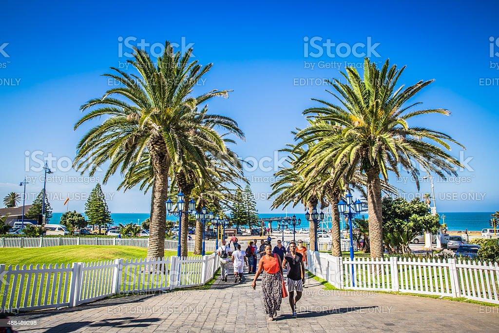 Port Elizabeth stock photo