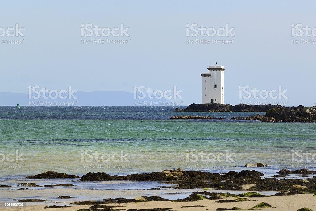 Port Ellen Lighthouse stock photo