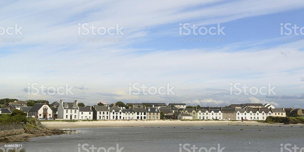 Port Ellen stock photo