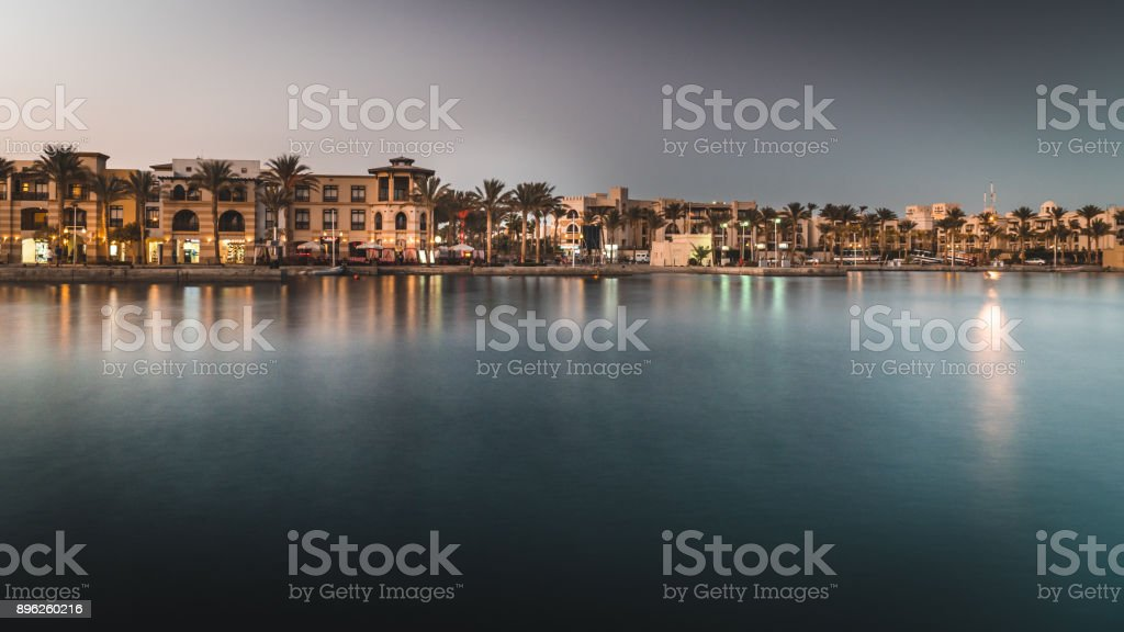 Port Ghalib stock photo