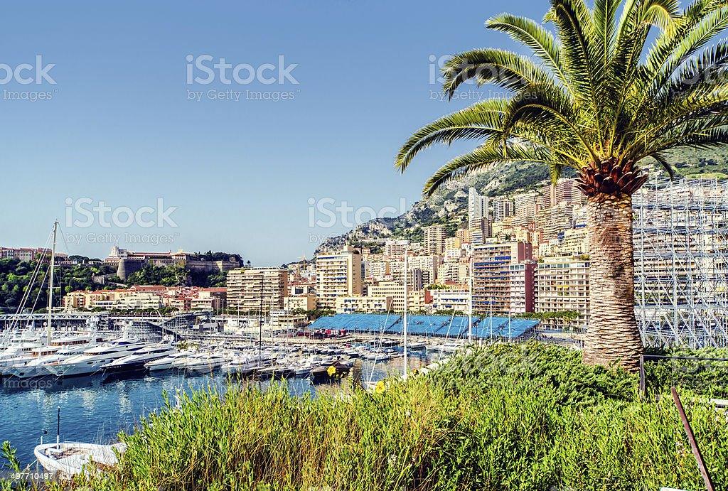Port Hercules. Principality of Monaco stock photo