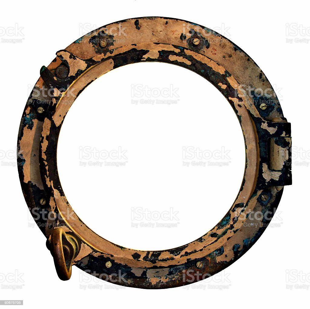 Port hole royalty-free stock photo