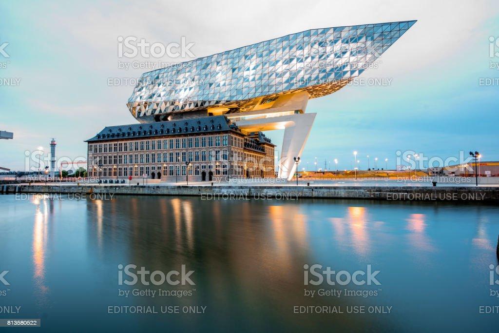 Maison du port d'Anvers - Photo