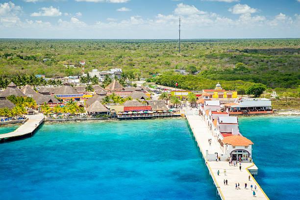 Hafen in Puerta Maya Cozumel, Mexiko – Foto