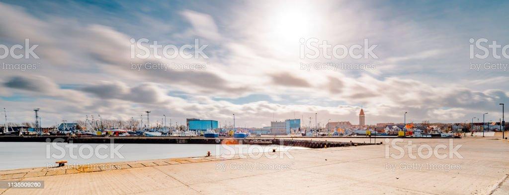 port in the city of Władysławowo – zdjęcie