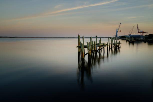 Port Landscape stock photo