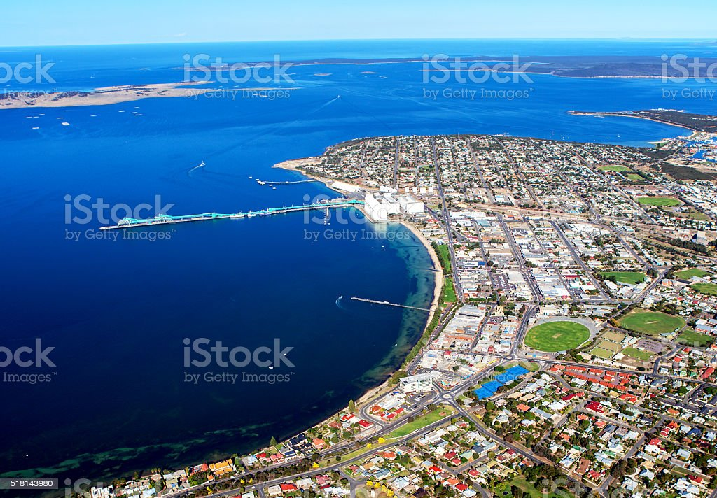 Port Lincoln stock photo