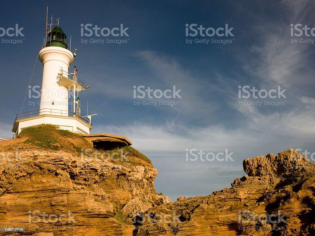 Port Lonsdale Lighthouse stock photo