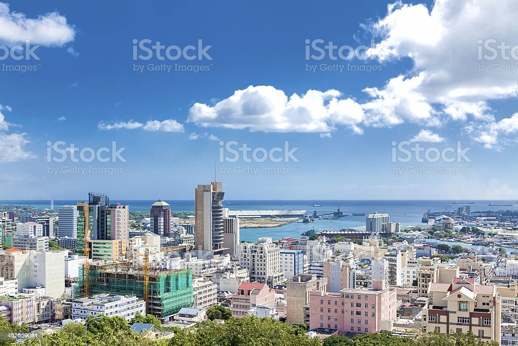 Port Louis, Mauritius, Africa stock photo