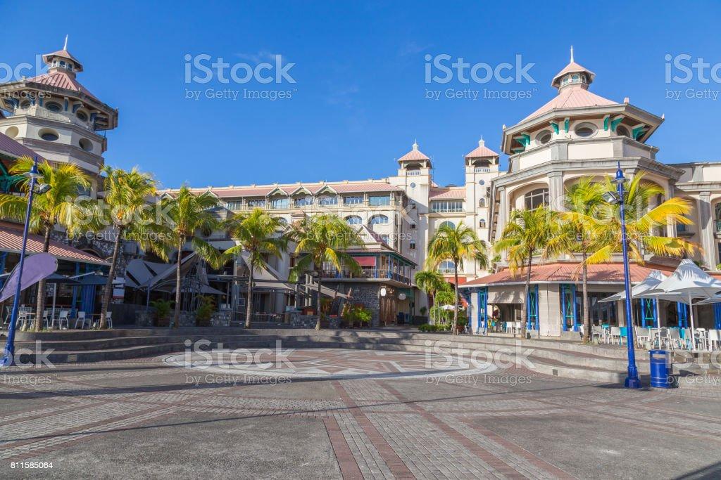 Port Louis Waterfront Center Hauptstadt von mauritius – Foto