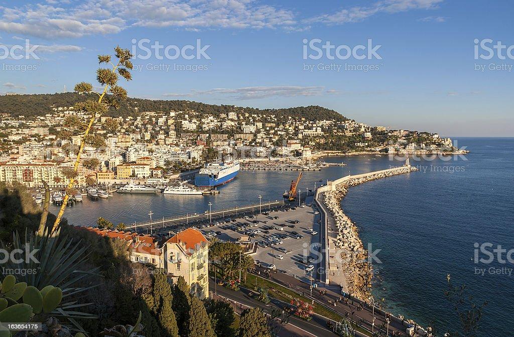 Port Lympia, Nice - France royalty-free stock photo
