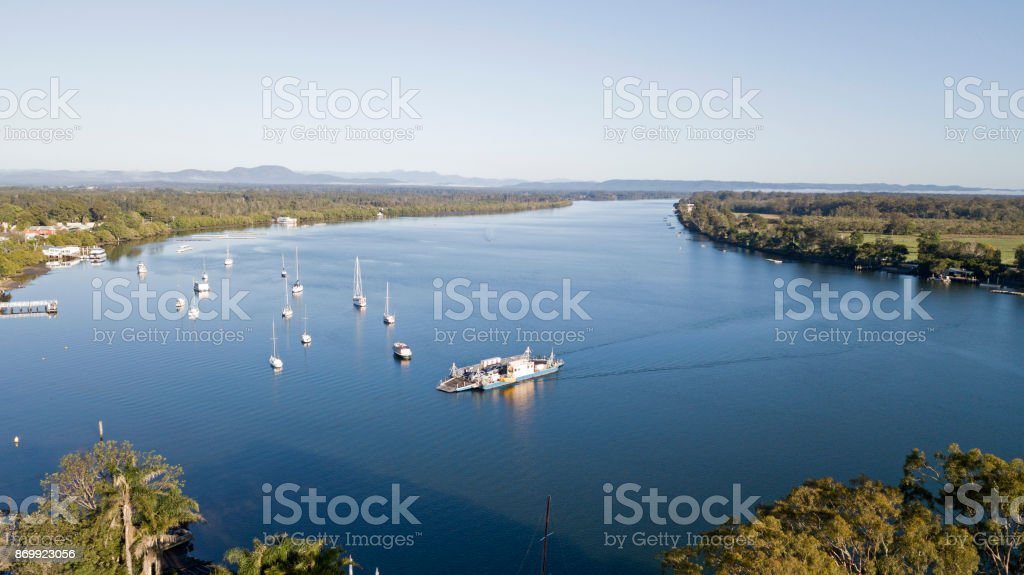Port Macquarie stock photo