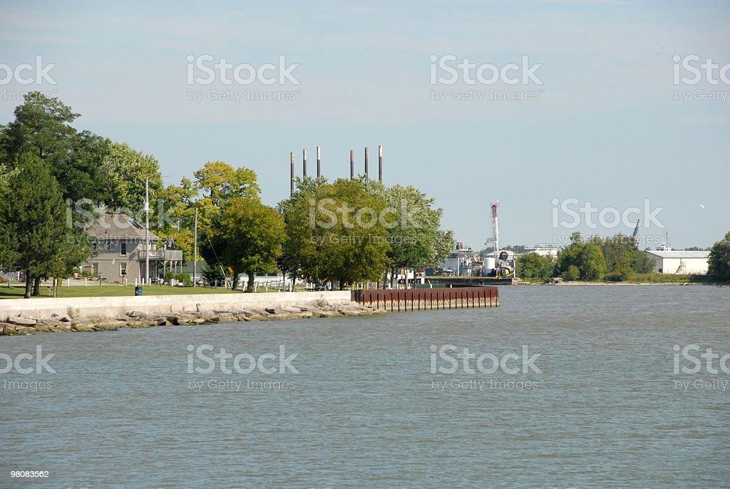 Port Maitland,Ontario royalty-free stock photo