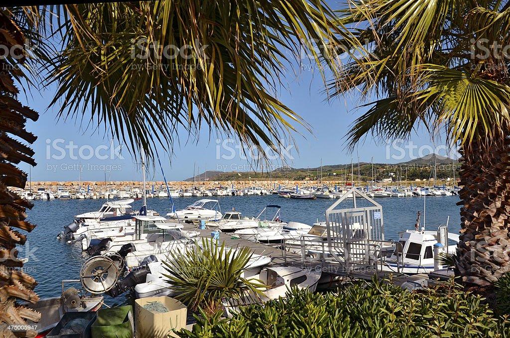 Port de Argelès-sur-Mer, en France - Photo