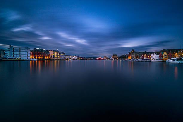 Port de Bergen, Norvège - Photo