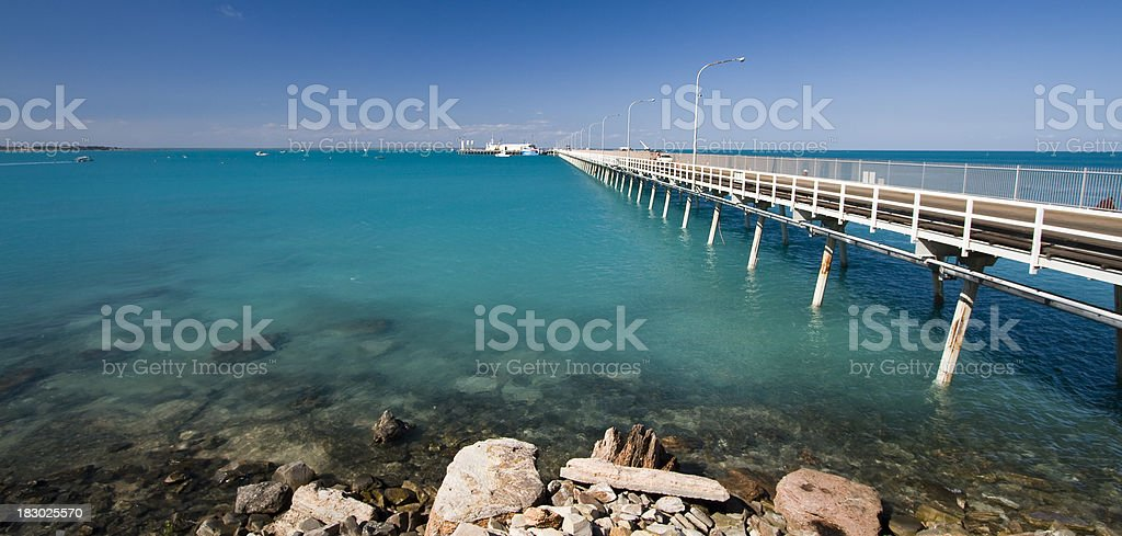 Port of Broome stock photo