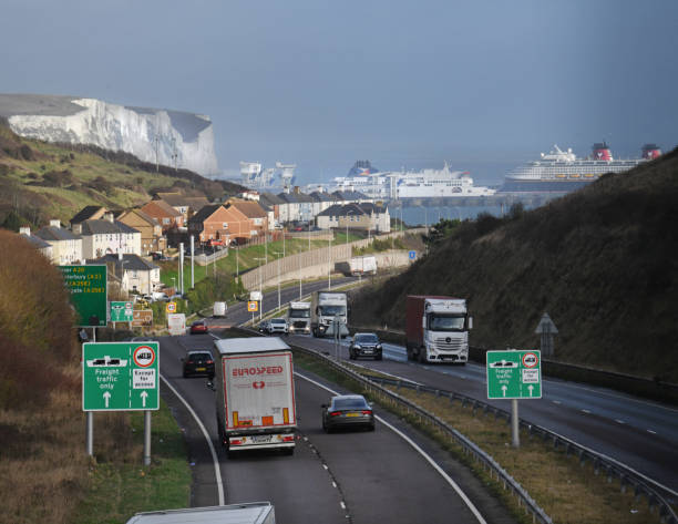Port of Dover stock photo