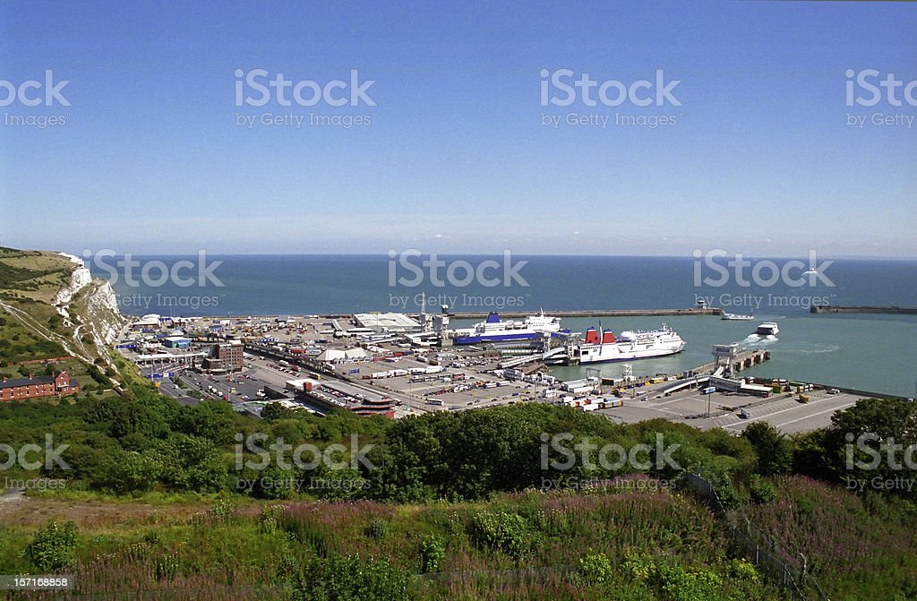 Port of Dover stock photo