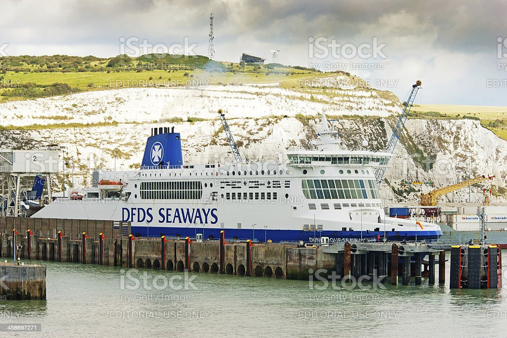 Port of Dover royalty-free stock photo