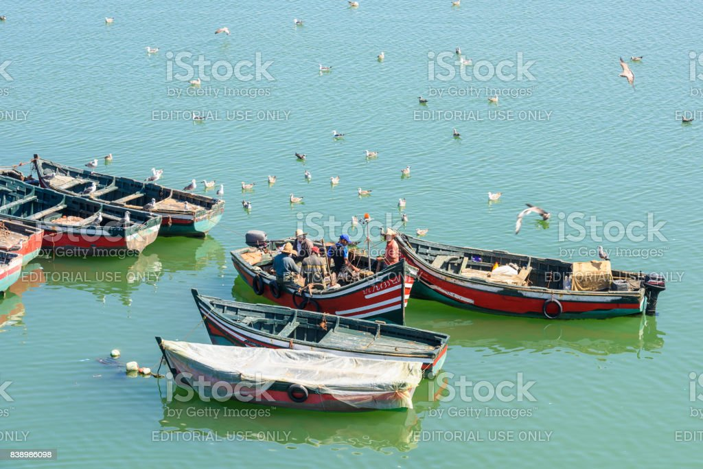Port of El Jadida, Morocco stock photo