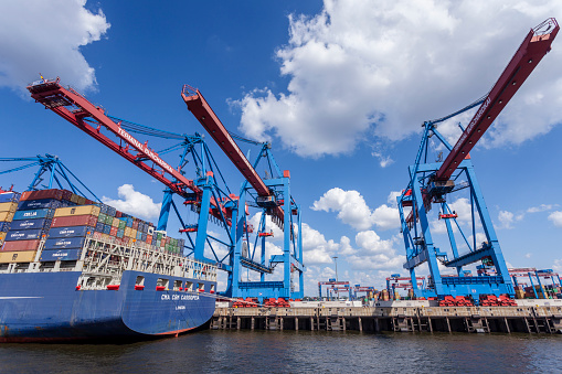 Port of Hamburg, Germany