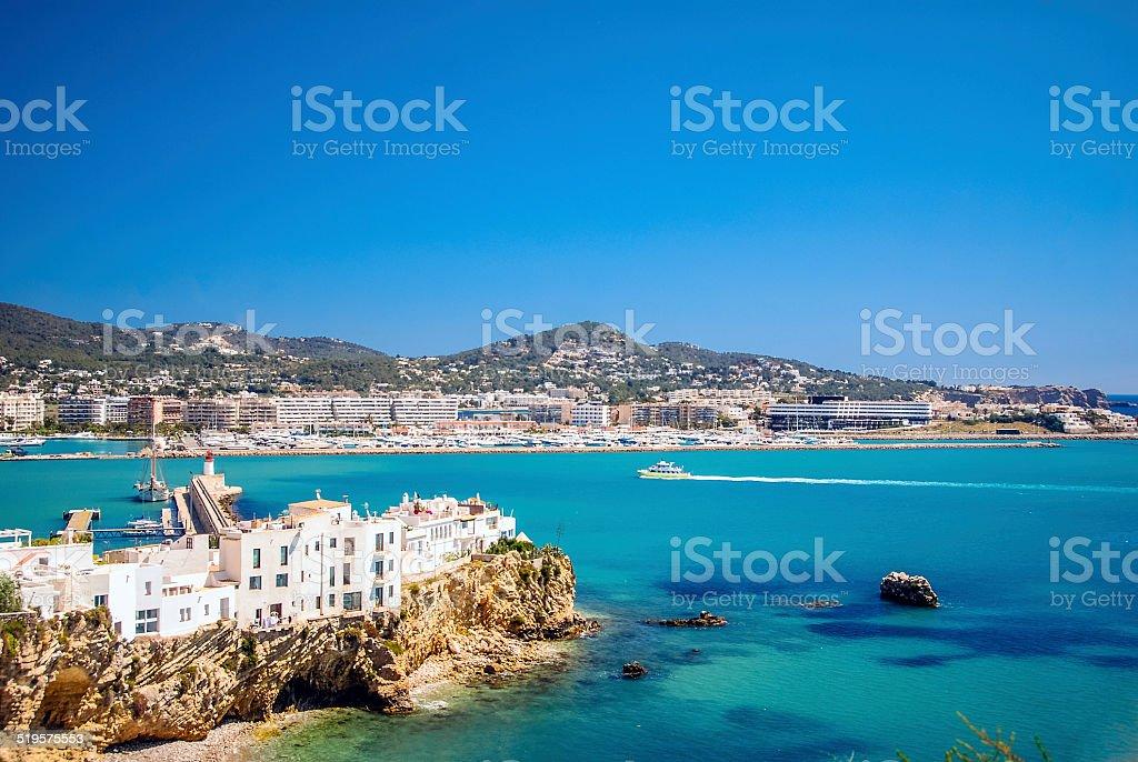 Port of Ibiza, Spain royalty-free stock photo