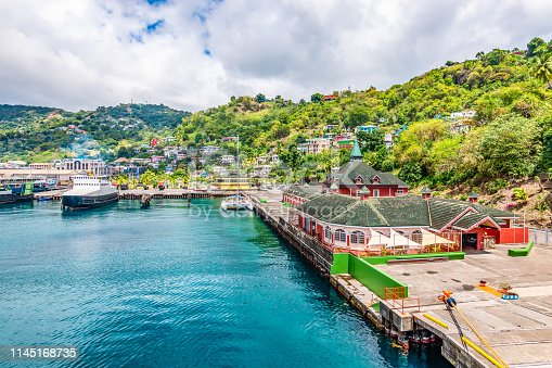 istock Port of Kingstown, St Vincent and the Grenadines 1145168735
