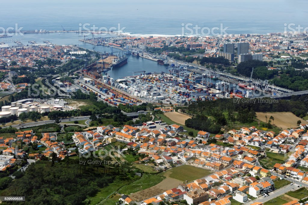 Port Of Leixoes In Matosinhos Porto Portugal Stock Photo Download Image Now Istock