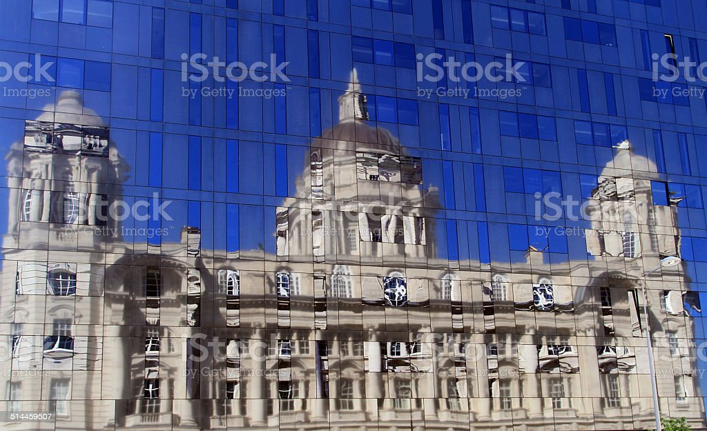 Port Of Liverpool Building royalty-free stock photo