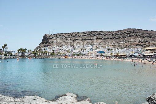 istock Puerto de Mogán . 1003404680