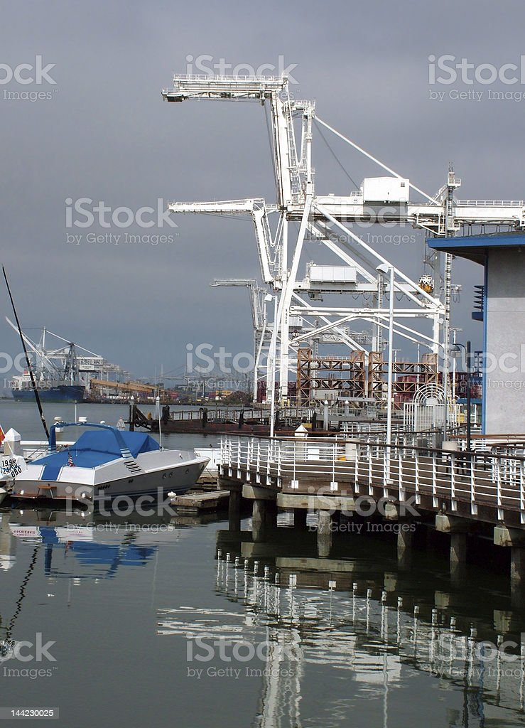 Port of Oakland stock photo