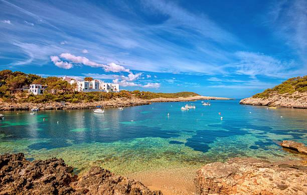 Port of Portinatx - Ibiza stock photo