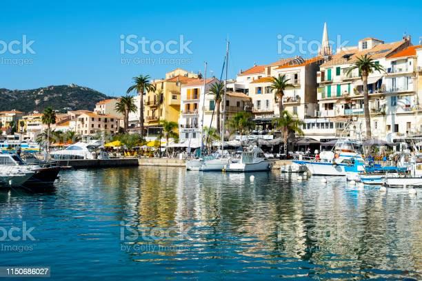 Hafen Von Portovecchio In Korsika Frankreich Stockfoto und mehr Bilder von Anlegestelle