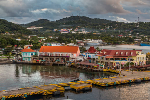 Hafen von Roatan in den Hondures – Foto
